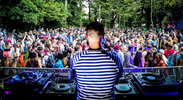 Hubie Davison performing on the Red Bull Music Academy Stage at Longitude this weekend