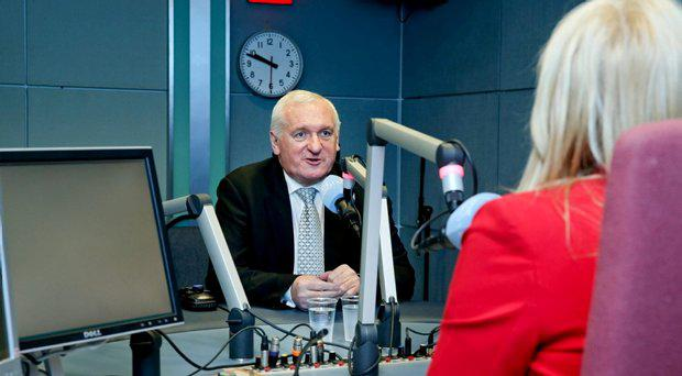 Former Taoiseach Bertie Ahern Live on Miriam O'Callaghan Sunday