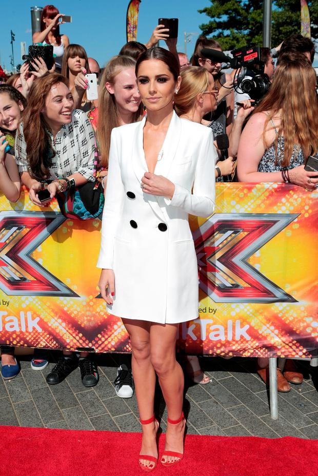 Cheryl Fernandez-Versini arrives for the X Factor auditions at the SSE Arena, Wembley, London.