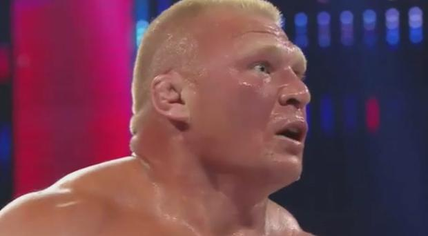 Brock Lesnar was shocked