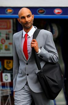 Minesh Parbat at Lewes Crown Court in East Sussex where he faces charges of death by dangerous driving. Photo: Gareth Fuller/PA Wire