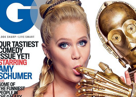 Star Wars have condoned the use of their sci-fi characters in GQ's magazine shoot with Amy Schumer