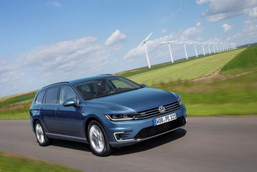 Volkswagen's new plug-in hybrid, the Passat GTE