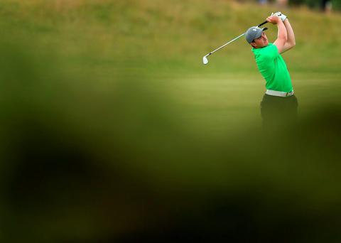 Paul Dunne during day five of The Open Championship 2015 at St Andrews, Fife.