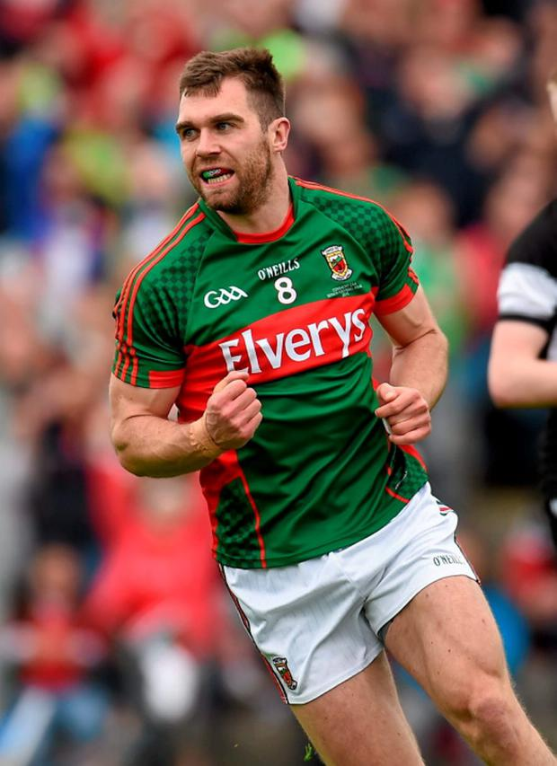 Mayo midfielder Seamus O'Shea is doubtful for their All-Ireland quarter-final showdown after picking up a groin injury in Sunday's match against Sligo