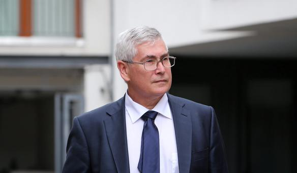 Consultant obstetrician and gynaecologist Dr Peter Van Geene during the The Medical Council fitness-to-practise inquiry at Kingram House, Dublin. Photo: Gareth Chaney Collins