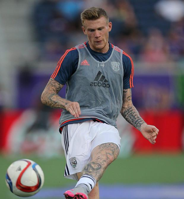 James McClean's decision to turn away from the England flag as the national anthem was sang has been called 'insulting, stupid and hypocritical'