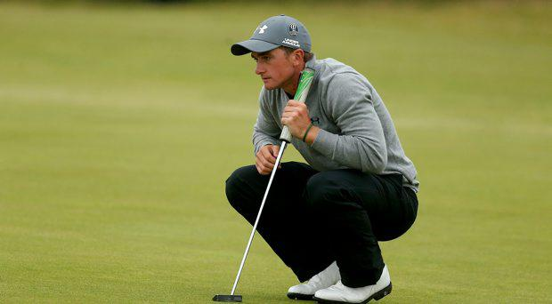 Ireland's Paul Dunne on the 9th during day five of The Open Championship 2015 at St Andrews, Fife