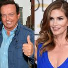 Marty Morrissey (left) and Cindy Crawford (right)