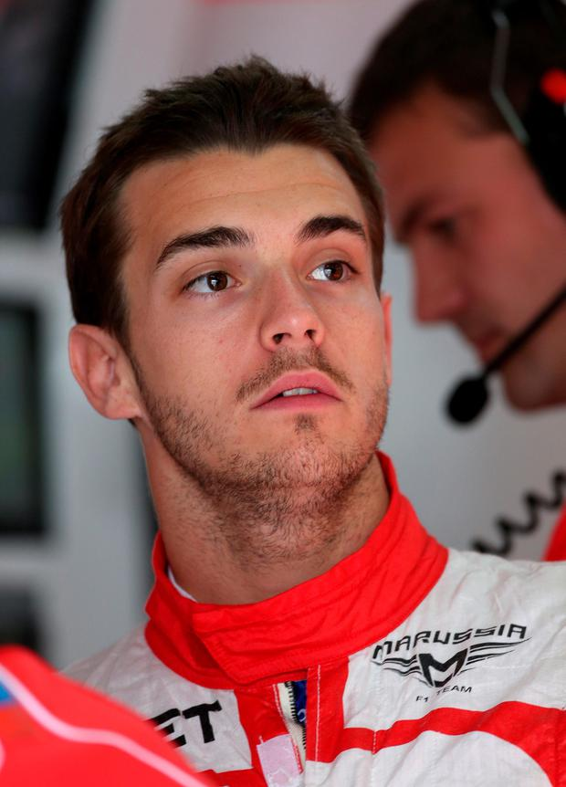 File photo dated 10-05-2013 of Marussia's Jules Bianchi during practice at the Circuit de Catalunya, Barcelona