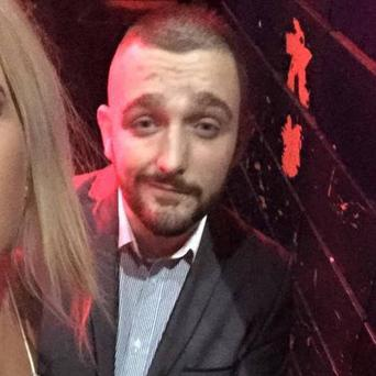 Alan Drennan, who was found dead in his hotel room on Sunday