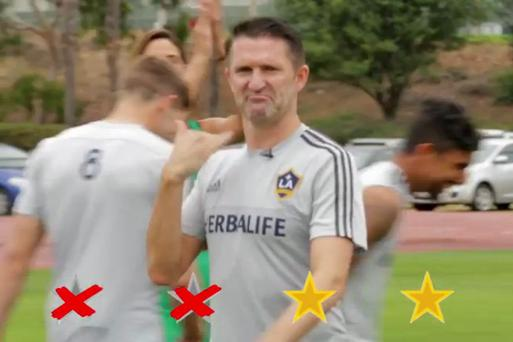 Robbie Keane enjoyed his victory