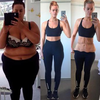 Fitness and health blogger Simone Pretscherer shed more than 13 stone