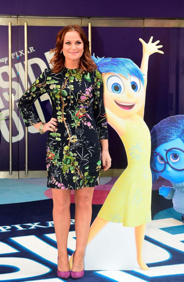 Amy Poehler at a screening of new film Inside Out at the Odeon Cinema, London. See PA Feature FILM Poehler. Picture credit should read: Ian West/PA Photos.