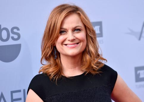 Amy Poehler at the 43rd AFI Lifetime Achievement Award Tribute Gala at the Dolby Theatre. Picture: Jordan Strauss/Invision/AP/PA Photos.