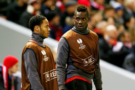 Mario Balotelli will soon be following Raheem Sterling out the door at Liverpool