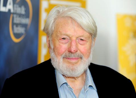 Actor Theodore Bikel arrives at the opening night of the UCLA Film and Television Archive film series