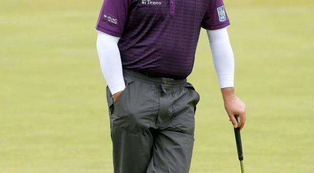 Graeme McDowell (pictured) on Paul Dunne: 'He seems like a really cool character. I liked his comments about being surprised to be leading an Open Championship but not surprised about the numbers he shot'