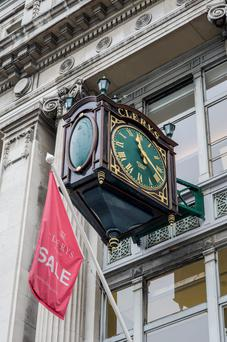 Clerys in Dublin closed suddenly last month