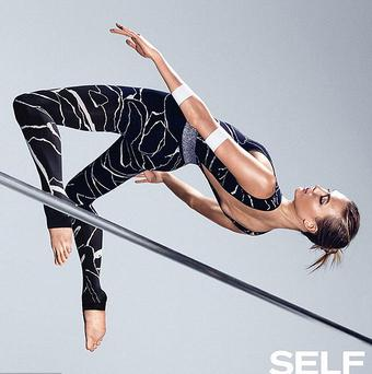 Karlie Kloss for Self magazine