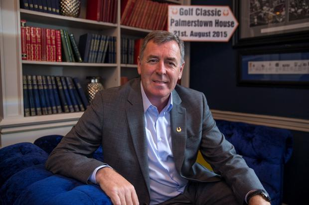 Packie Bonner at the launch of a fundraising golf tournament for Spina Bifida at House in Dublin. Picture:Arthur Carron