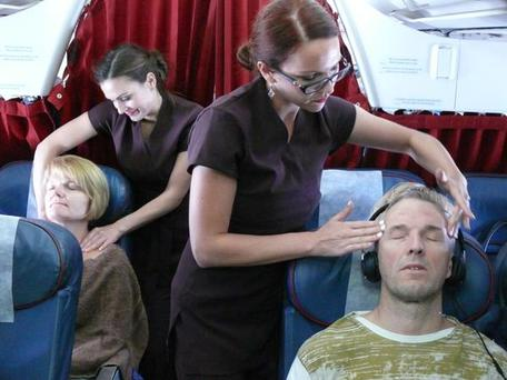 Air Malta is offering free massages to economy class passengers on select flights.