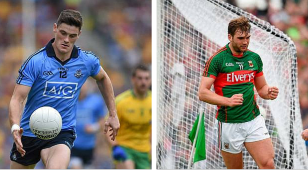Diarmuid Connolly and Aidan O'Shea could have a big say in the All-Ireland series
