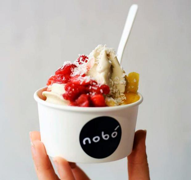 Nobó will churn out hundreds of gluten-free cones this summer and thrill with 99s made with avocado and coconut milk.