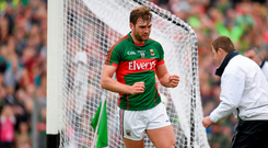 Aidan O'Shea played masterfully in his new role at full-forward in the Connacht final