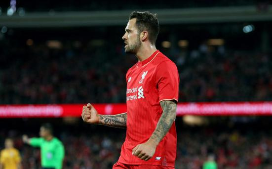 Liverpool's Danny Ings celebrates scoring during pre-season Action Images via Reuters / Jason O'Brien Livepic