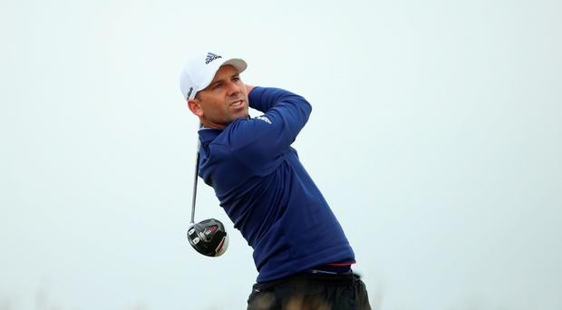 World number 10 Sergio Garcia (pictured) and Lee Westwood are among the field for the Omega European Masters, which starts today in the the Swiss Alps