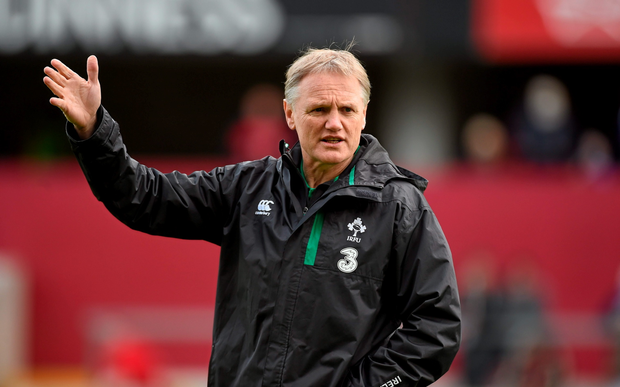 Joe Schmidt yesterday extended his deal with the IRFU
