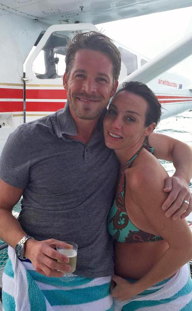 Sean Maguire and his wife Tanya Flynn