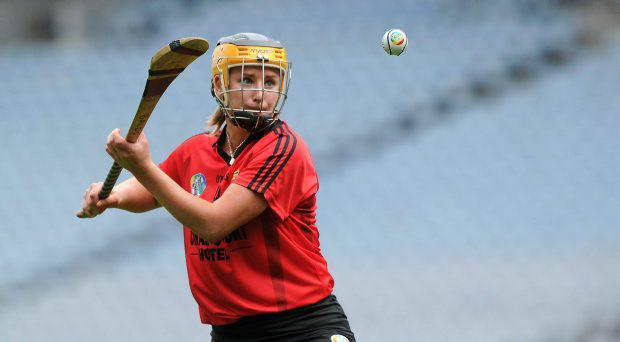 11 September 2011; Catherine McGourty, Down. All-Ireland Premier Junior Camogie Championship Final in association with RTE Sport, Down v Waterford, Croke Park, Dublin. Picture credit: Brian Lawless / SPORTSFILE