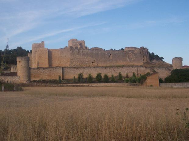 The town of Trigueros del Valle is known for the massive castle that dominates its landscape