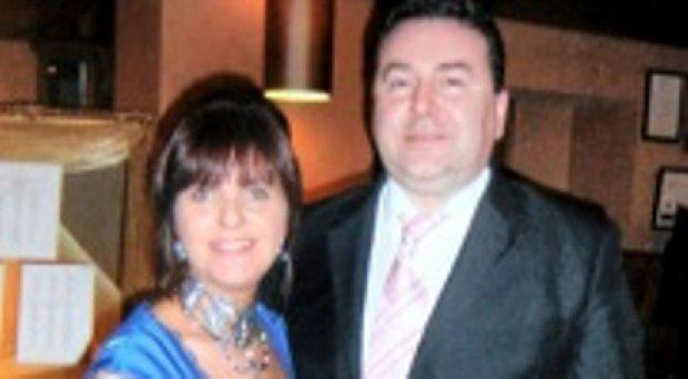 Jane and husband Eamon Cronin. Eamon was killed in a hit and run in Swords on August 16, 2014