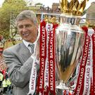 Arsenal and Arsene Wenger have not won the league since Arsenal's invincible season in 2003/04
