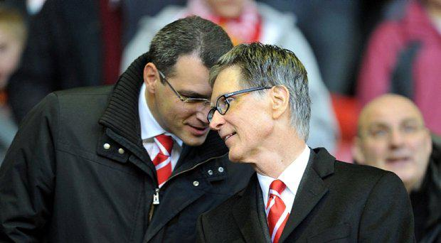 Liverpool co-owner John W Henry (right) and former Director of Football Damien Comolli