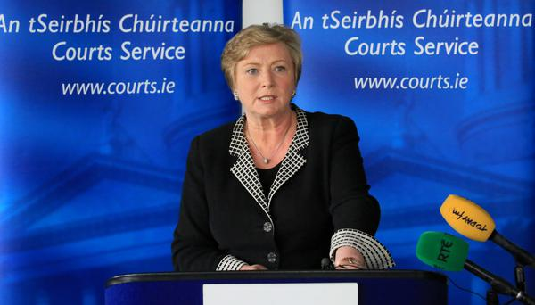 Minister for Justice Frances Fitzgerald: 'The bill puts the needs of victims at the heart of our justice system'