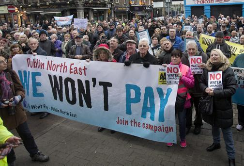 Irish Water is facing huge opposition to charges