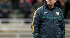 Kerry manager Eamonn Fitzmaurice pores over DVDs of matches to iron out problems