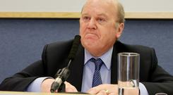 Finance Minister Michael Noonan said the latest data showed public finances were in a strong position ahead of Budget 2016
