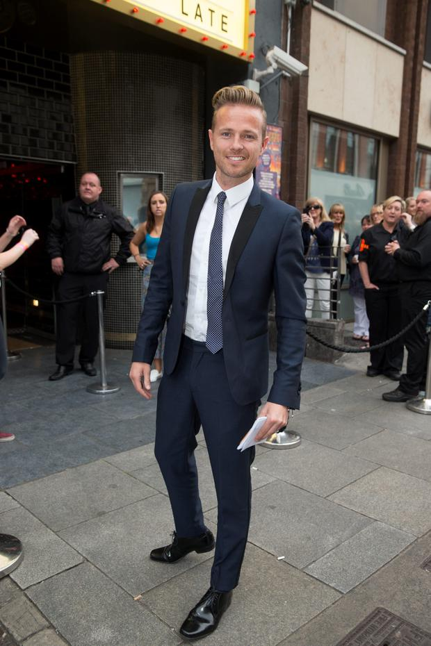 Nicky Byrne at the Berkeley Fundraiser at the Academy in Dublin. Picture:Arthur Carron