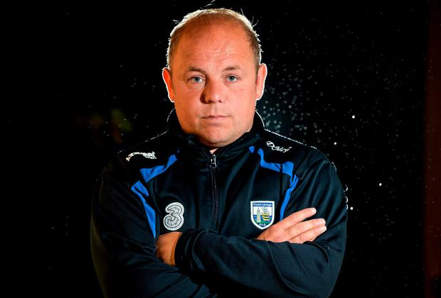 Waterford manager Derek McGrath