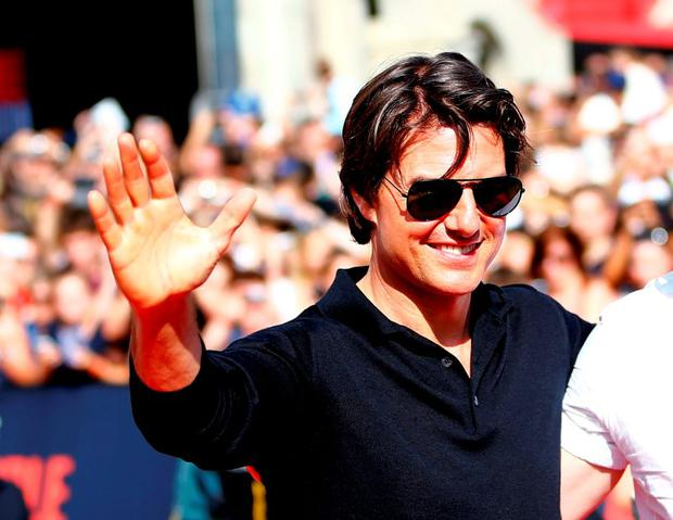 U.S. actor Tom Cruise arrives for the world premiere of