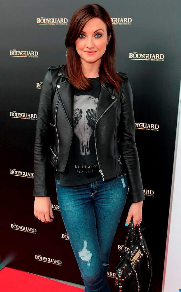 Jennifer Maguire at the opening night of the musical The Bodyguard at the Bord Gais Energy Theatre,Dublin. Picture:Brian McEvoy