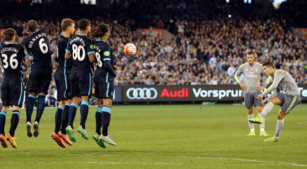 Real Madrid v Manchester City - International Champions Cup Pre Season Friendly Tournament - MCG, Melbourne, Australia