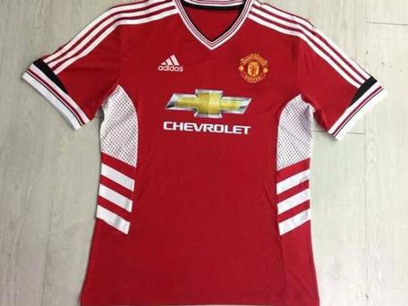 The Manchester United kit for 2015/16 season