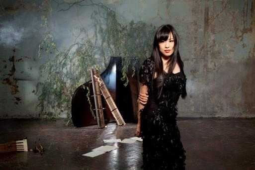 Magical music: EJ Lim was a child prodigy and her musical talent has been hailed the world over. She plays the NCH on Monday night.