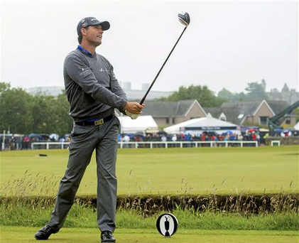 'Harrington never seems to wear the weight of the world on his shoulders, no matter the context of a golf round'